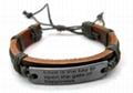 2011 fashion leather bracelet 4