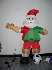 充气圣诞老人