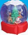 充气雪球 5