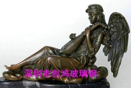 玻璃鋼人物雕塑 1