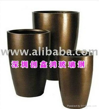 玻璃鋼花盆 1