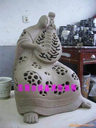 玻璃鋼人物雕塑 4