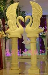 厂家生产加工玻璃钢罗马柱