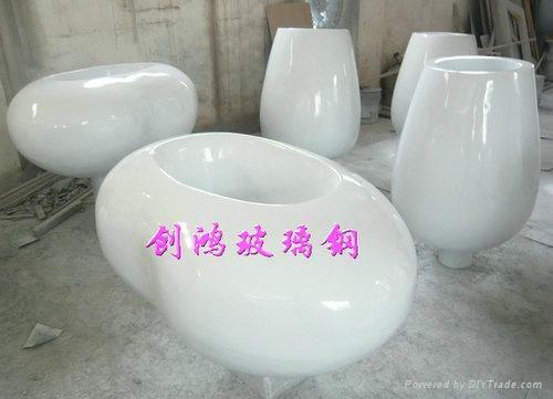玻璃鋼藝朮花盆 2