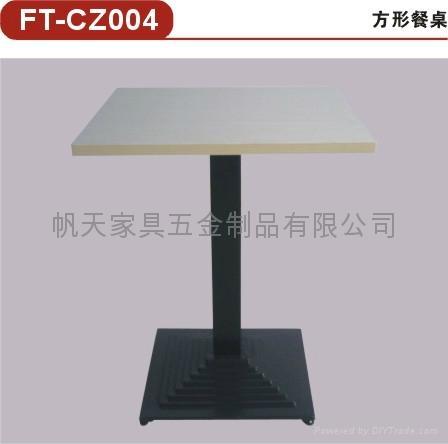 供應2011年新款餐桌快餐廳傢具五金配件 1