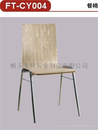 高檔餐廳傢具曲木快餐椅 5