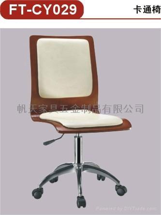 曲木轉椅 1