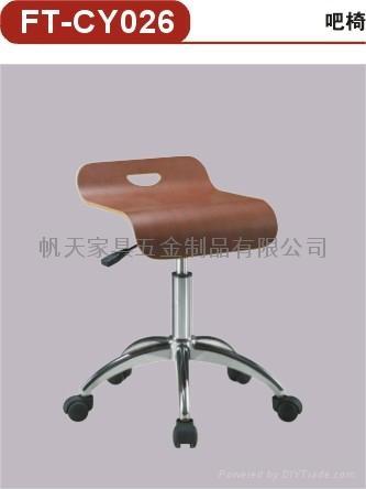 曲木轉椅 5