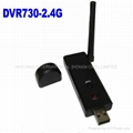 wireless 4 channel usb dvr  2.4G for cctv camera