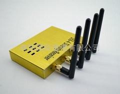 D58-4 新款 D58-4 5.8G FPV 四路冗余分集接收机 多方位接收