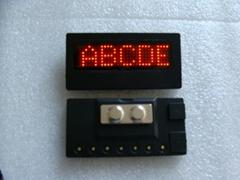 LED Mini badges for B729 red