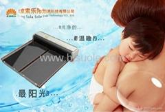 新鲜水太阳能热水器