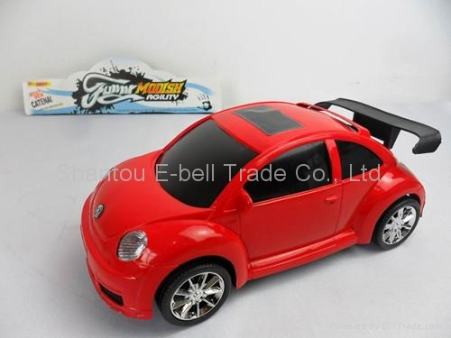 Simulation beetle car