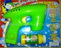Automatic Bubble plastic toy Gun
