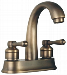 Double-handle Basin Tap