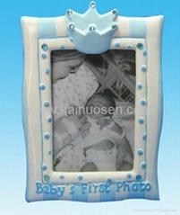 ceramic photo frame for baby birthday