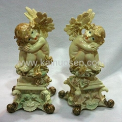 military resin statues