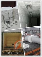 砖窑平顶式隧道窑专用的厂家直销高铝型耐火保温棉块