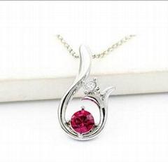高檔水晶禮品批發飾品廠家施華洛世奇水晶項鏈