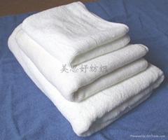 全棉素色平织浴巾