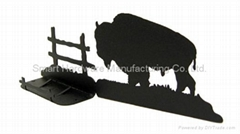 Buffalo name card holder