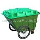 Plastic Garden Cart 400L, 500L with Two Wheels