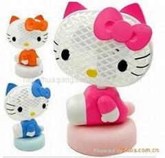 快樂KT貓搖頭USB風扇