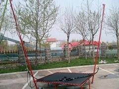 2012钢架手动蹦极厂家直销