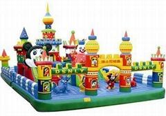 98平方儿童充气城堡