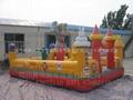 充氣城堡蹦床中型奧特曼充氣城堡 3