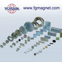 Sintered Strong Neodymium Rare earth Magnets