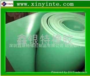 綠色純橡膠板 1