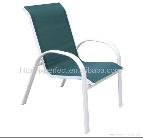 POPULAR Leisure teslin mesh metal Garden Chair outdoor furniture PQ 028 PF