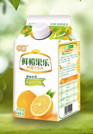 中橙鲜榨橙汁 1