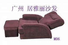 广州专业订做沐足沙发-M06