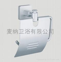浴室挂件麥納衛浴太空鋁手紙架