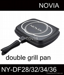 double fry pan