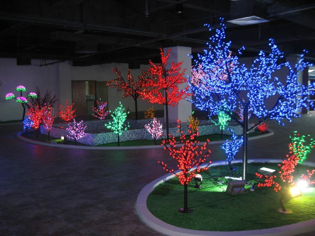New Design Color Change Led Tree Light 4