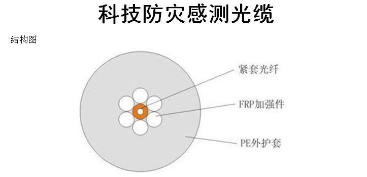 科技防灾感测光缆 1