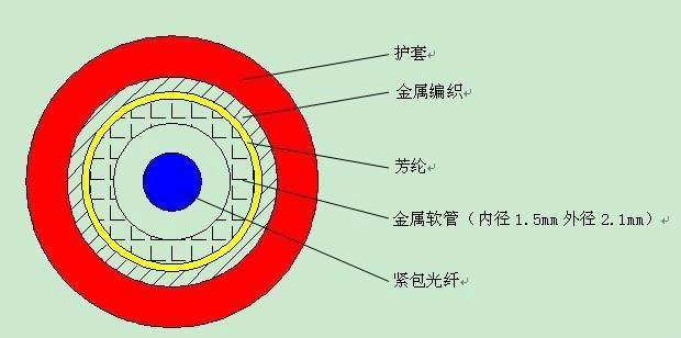 DTS温度感测光缆 1