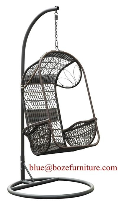 Garden Rattan Furniture Hammock Wicker Swing Chair (BZ W004) 1 ...