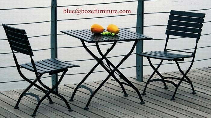 ... Steel Dining Set Garden Iron Furniture (BZ DS016) 4 ...