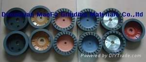 segmented resin wheel for beveling machine 2