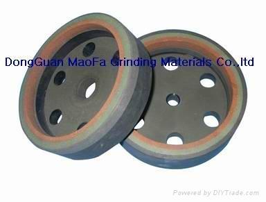 Three-band resin wheel 1