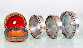 Diamond grinding wheel of bevel edge machines 1
