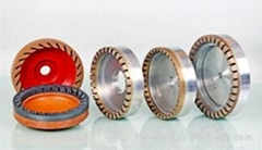 Diamond grinding wheel of bevel edge machines