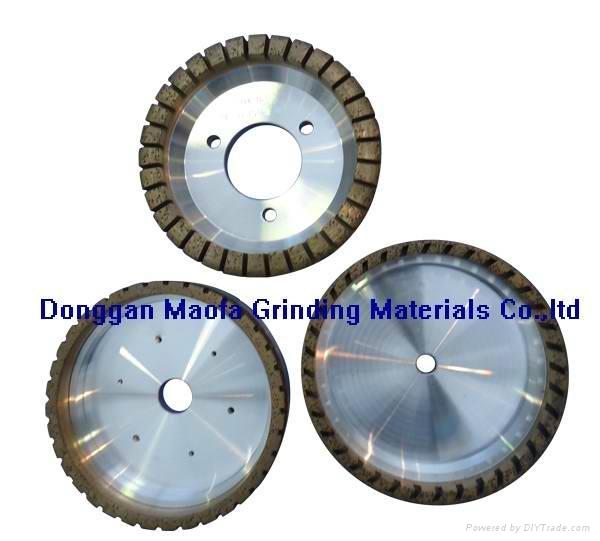 Diamond grinding wheels for glass straight line double edger machine 1