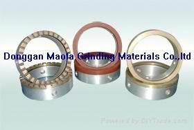 Diamond grinding wheels for glass straight line double edger machine 3