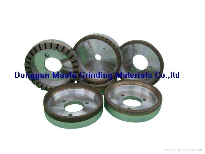 Diamond grinding wheels for glass straight line double edger machine 4