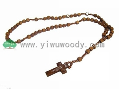 rosary beads made of wooden beads MY-d0007